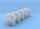 Undead, 5x Skull Conversion Kit (28mm Figures) 1 in Frosted Ultra Detail