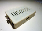 Raspberry Pi Case Bottom in White Strong & Flexible