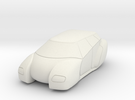 Hover Car - HO Scale in White Strong & Flexible