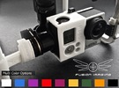 GoPro Zenmuse H3-2D Mounting Bracket 'Sleeve' in White Strong & Flexible Polished