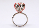 Infinite Love Ring Size 6 in Polished Silver
