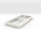 Melbourne Metro Trains map iPhone 5c case in White Strong & Flexible