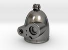 Laputian Sentry Head Pendant in Polished Nickel Steel