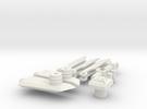 DOTM Voyager Skyhammer Assault kit MEG version in White Strong & Flexible