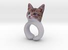 Cat Ring in Full Color Sandstone