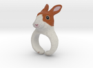 Rabbit Ring in Full Color Sandstone