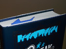 Shark Bookmark in Blue Strong & Flexible Polished