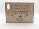 DevOps Thought Leadership Crest Certificate in Matte Gold Steel