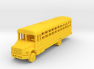 1/144 45 Passenger Bus in Yellow Strong & Flexible Polished
