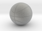 BasketBall in Metallic Plastic