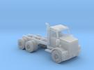 Water Truck Semi Z Scale in Frosted Ultra Detail