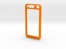 Iphone 6 plus  in Orange Strong & Flexible Polished
