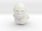 Barbarian bust in White Strong & Flexible