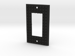 Lego based Switch Cover Plate (Single rocker) BETA