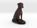 Custom Dog Figurine - Mabel
