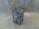 'N Scale' - 10'x10'x20' Tower Top With Stairway