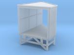 N Angular Loading Dock Left