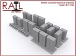 N Scale Lineside Electrical Cabinets