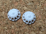 Doll Eyes Steampunk Moving Gears: 17mm