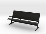 Eames Tandem Sling Airport Chairs 1:12 scale