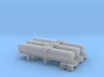 N scale 1/160 Crude oil trailer, Brenner 210 x3