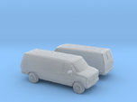 1/160 2X 1988 Chevrolet G Series Van