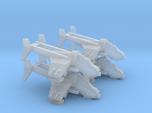 3mm 4x Gunship