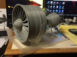 Turbofan Engine Fan Cone