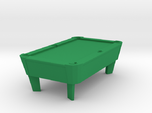 Pool Table - Cleared 'O' 48:1 Scale