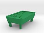 Pool Table - Balls Broke 'O' Scale