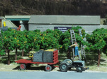 N Scale Partial Fruit Lug Stack with Pallete