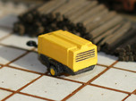 N Scale Atlas Copco Mobile Compressor (2pc)