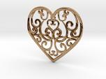 Christmas Heart Ornament