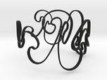 Rayleigh-Taylor Bracelet #1 - 7'' Wrist