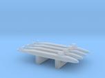 Seawolf-Class SSN x 4, 1/6000