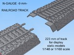 N-Scale Railroad Section