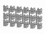 On3 D&RGW 6200 Stake Pockets, set of 18