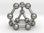 0372 Truncated Tetrahedron V&E (a=1cm) #003