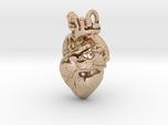 Bigger Anatomical Heart pendant
