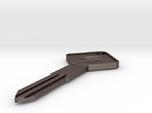 S12 Silvia Key Blank - Square Style