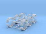 1/64th Single tire fender set of six