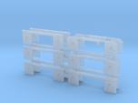 1/50th Set of 12 truck mudflap light bars