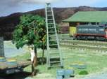 HO Scale, Four 15' Ladders