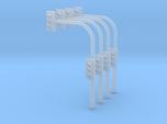 4x Ampel + Mast Spur N