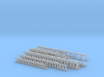 1/24 scale fittings (pipe & hydraulic) straight, t