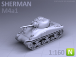 SHERMAN M4A1  (N scale)