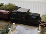 Locotracteur X - outside frames - Nm 1:160