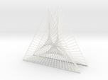 Shape Wired Parabolic Curve Art Triangle Base V2