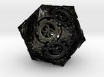 Steampunk D20 (Spindown)
