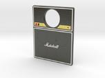 Pinball Plunger Plate - Quad Speaker / Amp